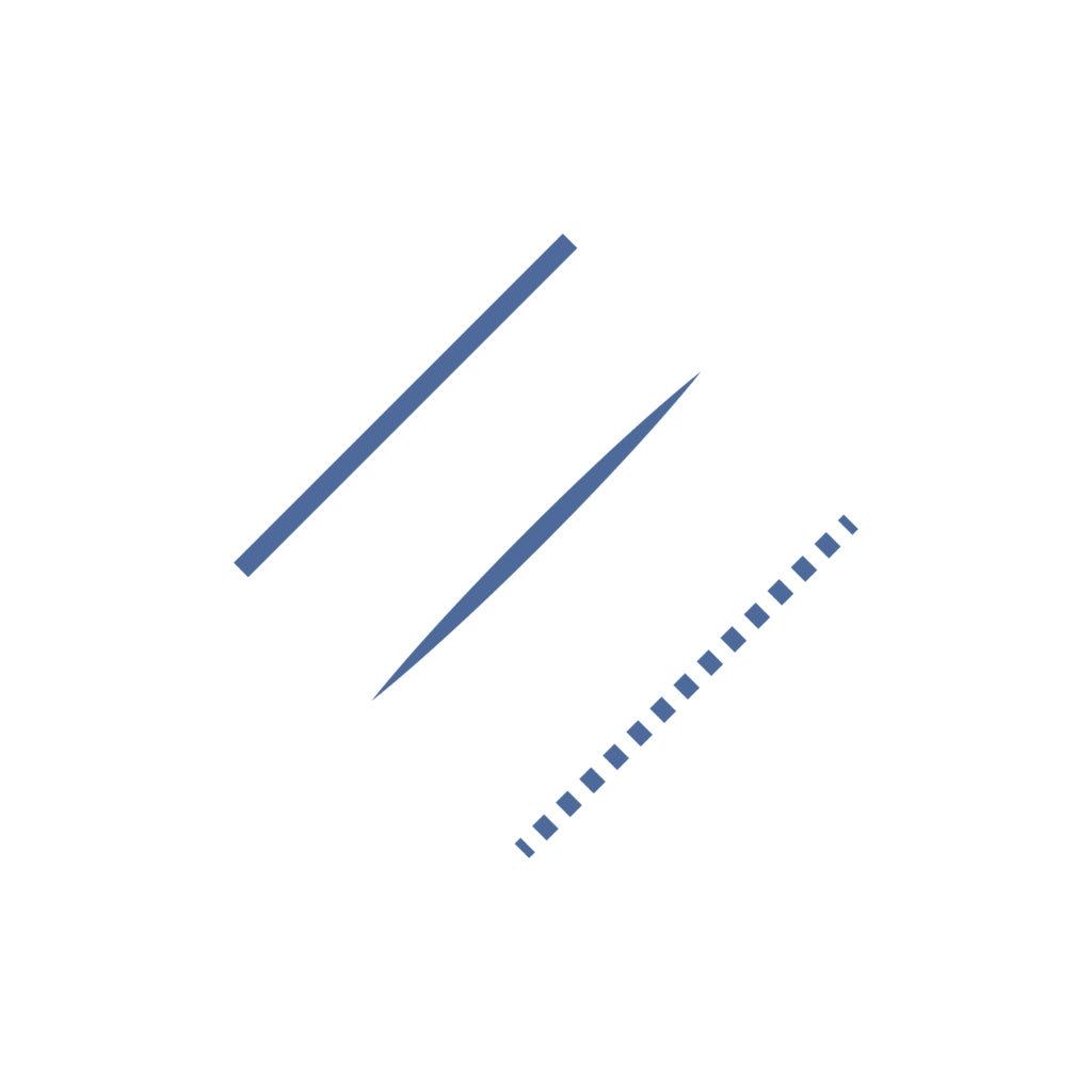 diagonal purple lines used