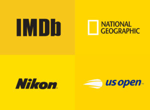 famous yellow color logo