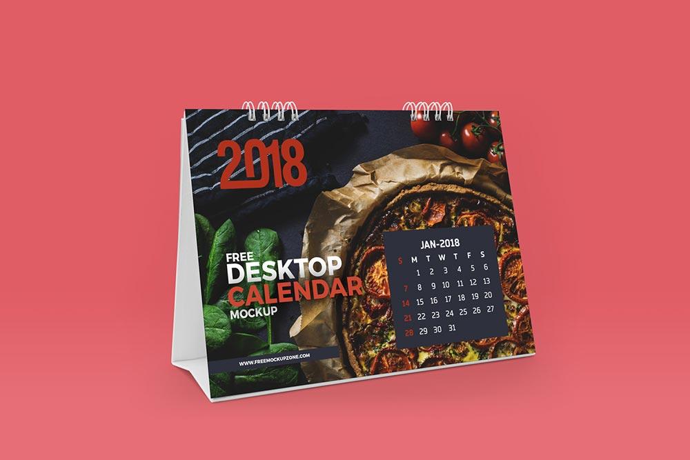 free desktop flip calendar