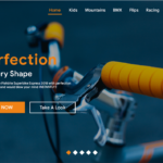 bike shop ecommerce website UI kit