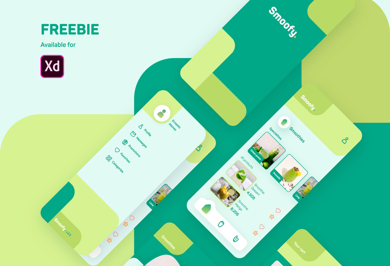 smoothie shop mobile app