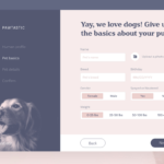 pawtastic pet inspired adobe xd UI kit