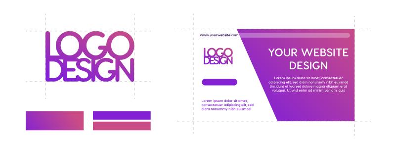 logo design establish your digital agency online brand