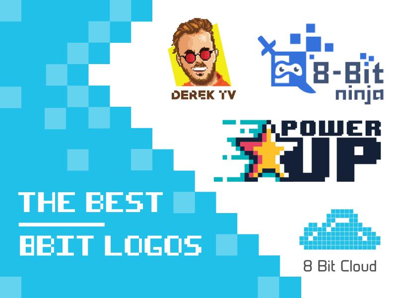 the best 8 bit logos