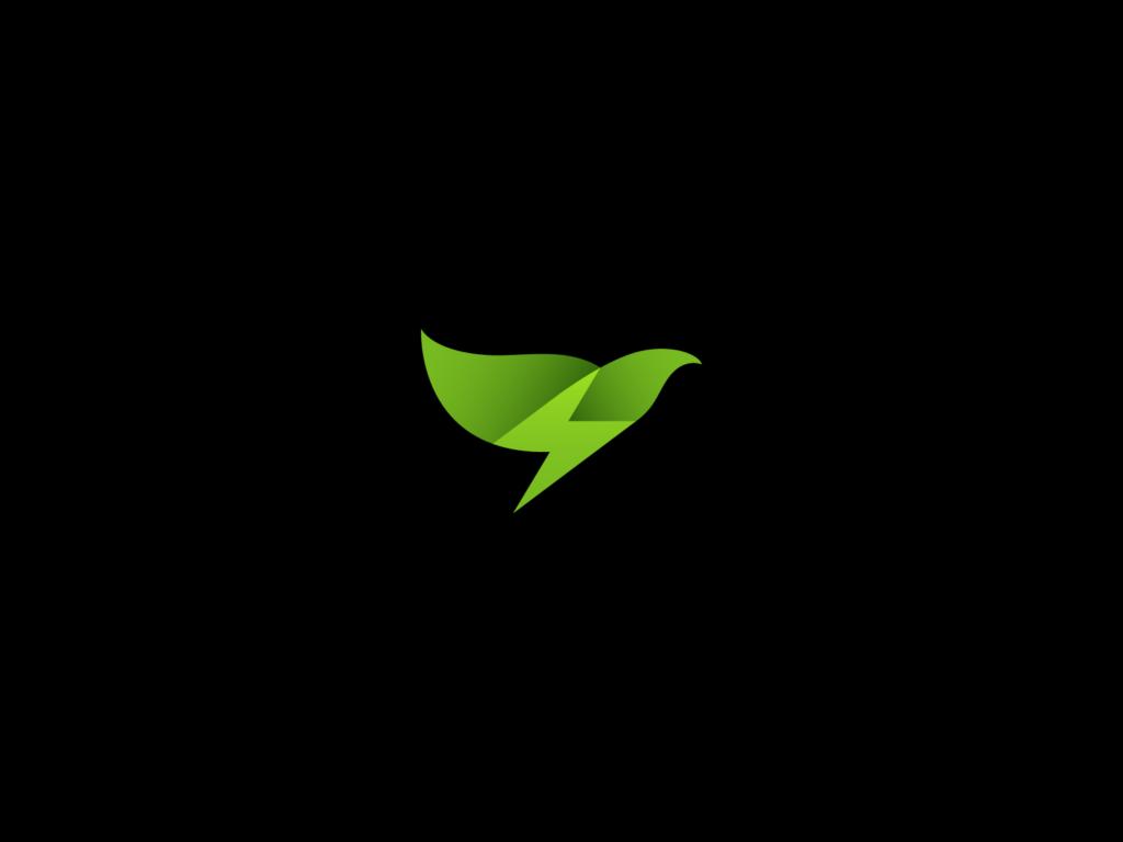 green energy bird design