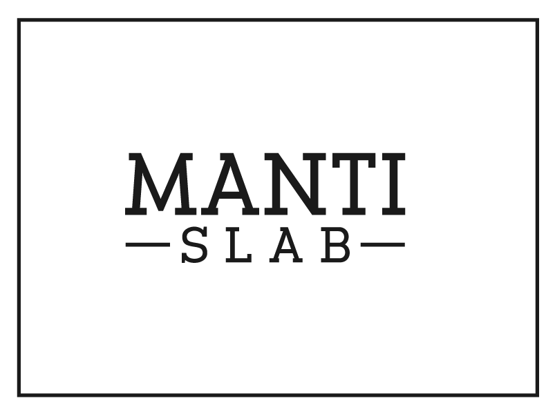 MANTI SLAB font serif style