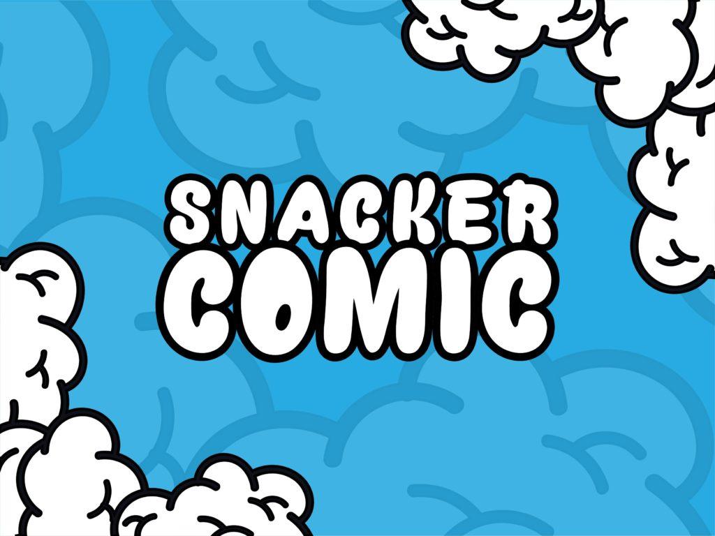 smacker comic font