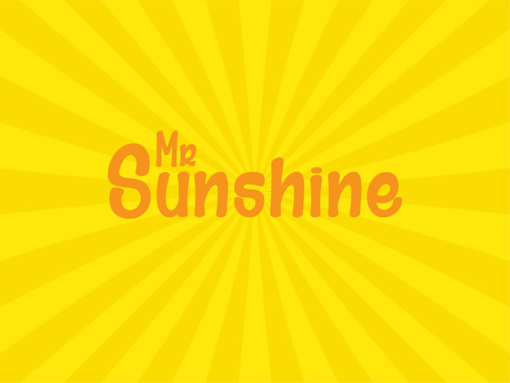 mr sunshine comic free font