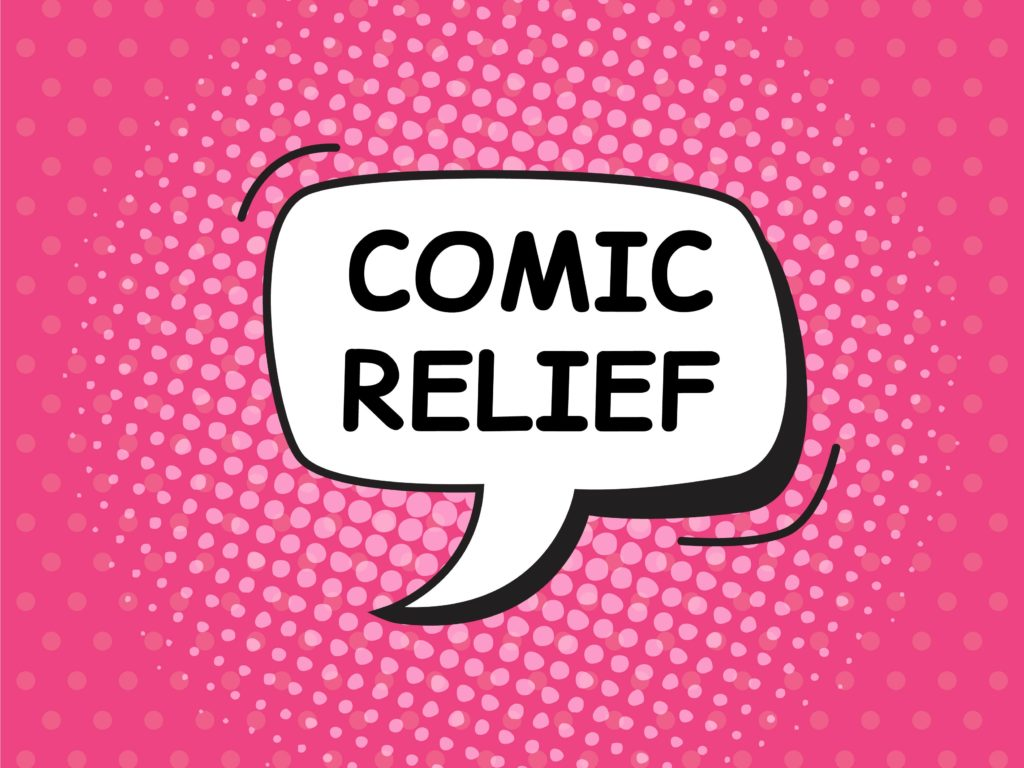 comic relief comic book font