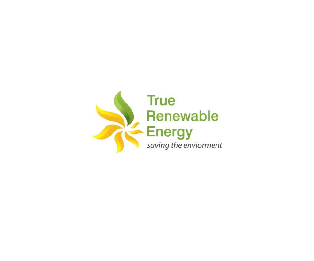 true renewable energy logo