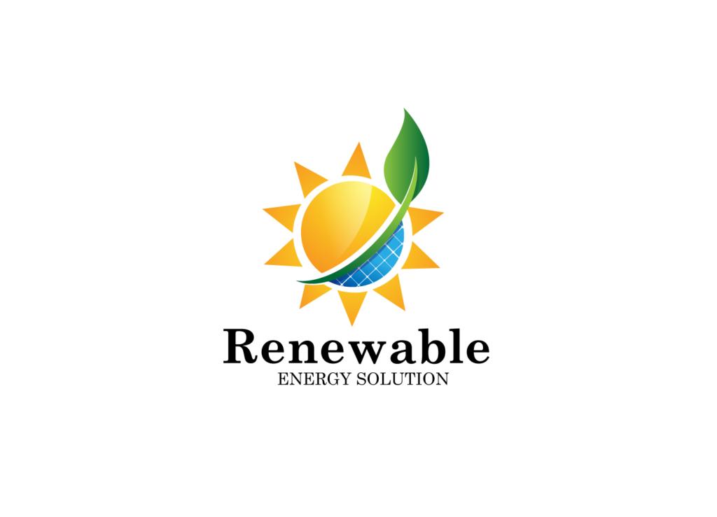 sun logo green energy