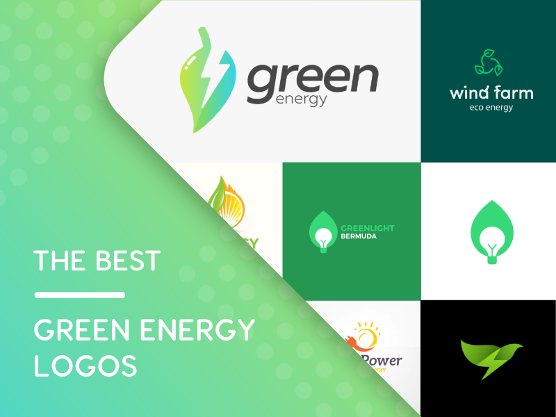 the best green energy logos