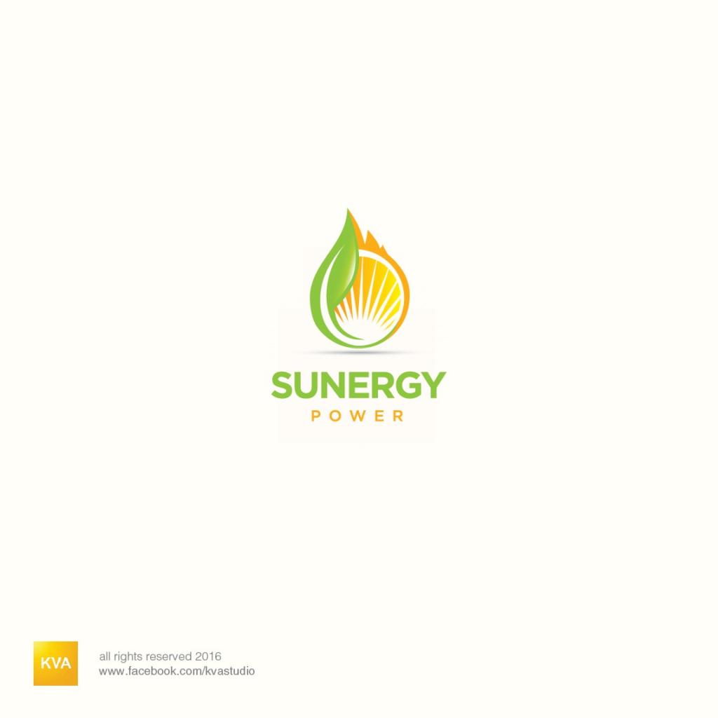 sunergy power sun and leaf