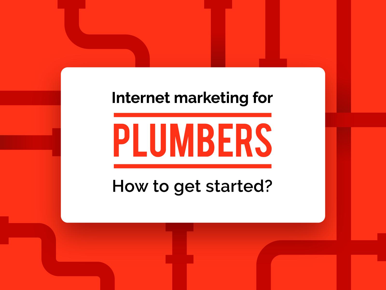 Marketing for plumbers banner