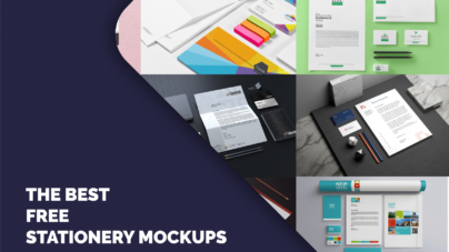 Free download Stationery Mockup