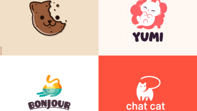 Cat logo design inspiration