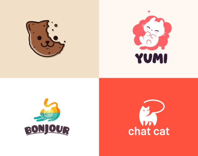 Cat logo design inspiration