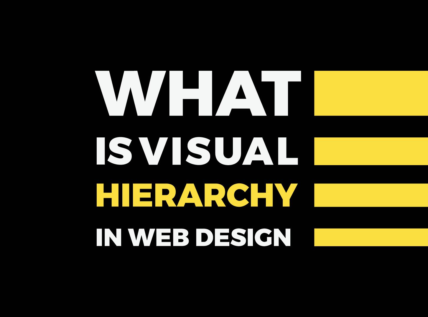 Visual Hierarchy - What is Visual Hierarchy - Inkyy Website Design Studio