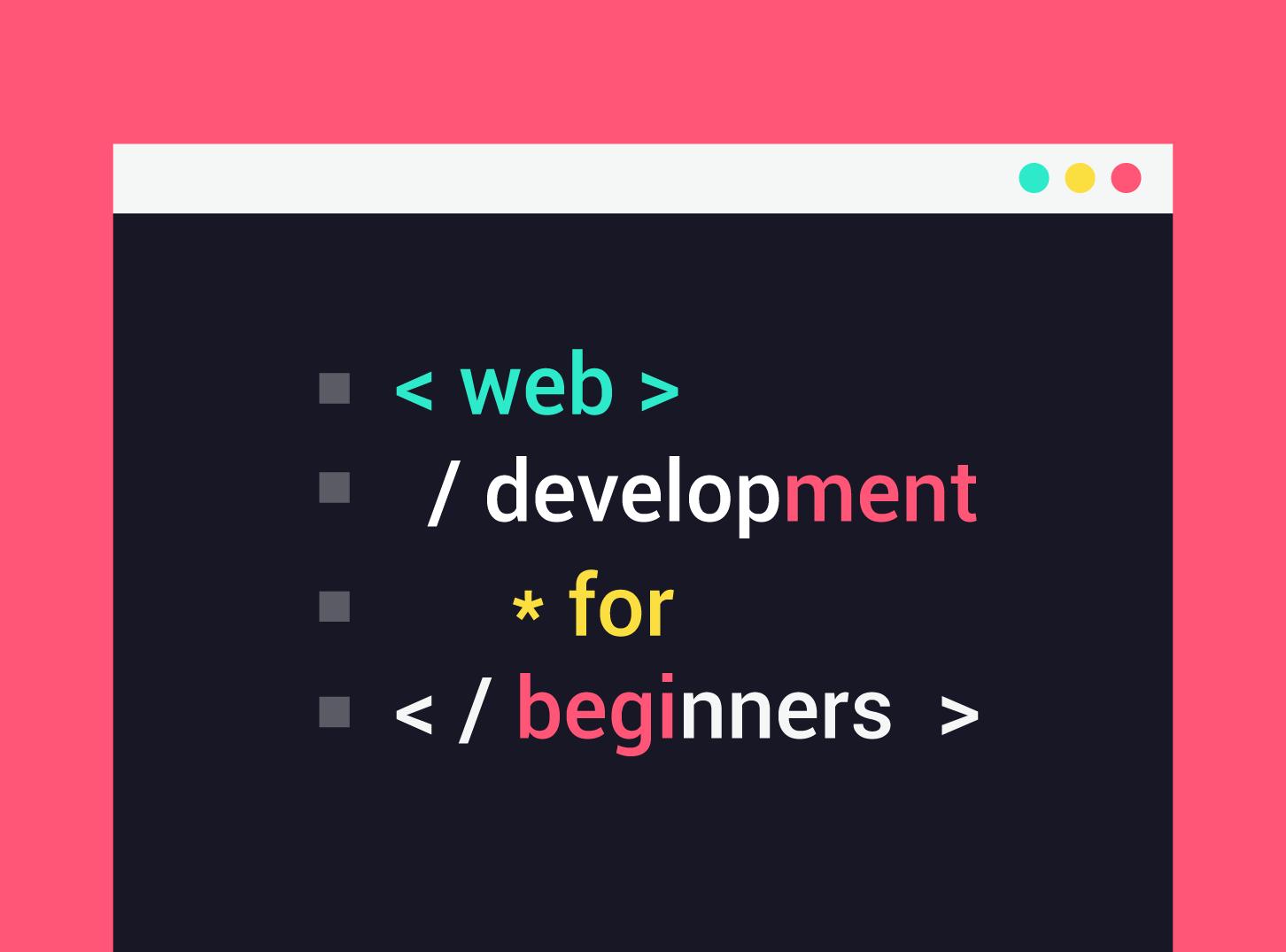 Web Development For Beginners | Inkyy Web Design Studio