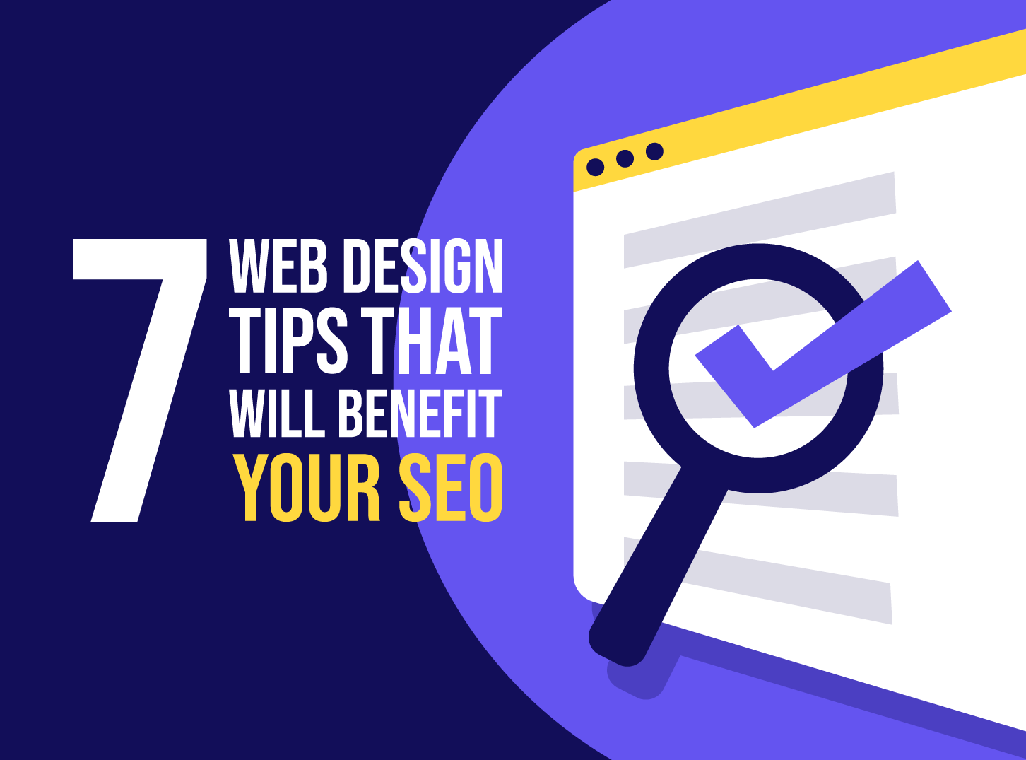 7 Web Design Tips for Better SEO