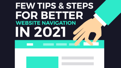 Few Tips & Steps For Better Website Navigation - Inkyy Web Design & Branding Studio