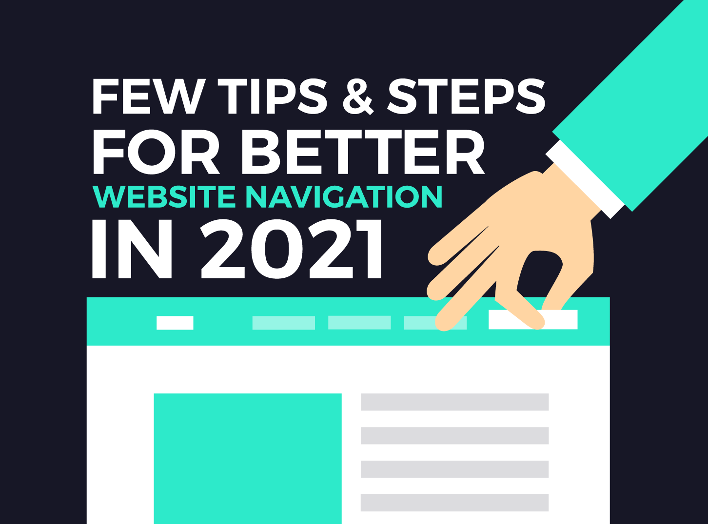 Few Tips & Steps For Better Website Navigation - Inkyy Web Design & Branding Studio