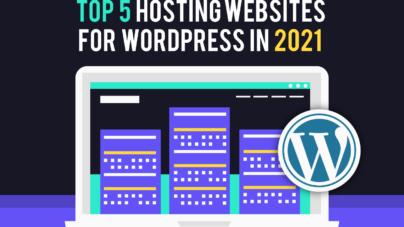 Top 5 Hosting Websites for WordPress - Inkyy Web Design Studio & Blog