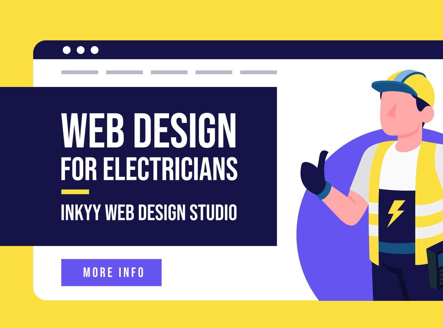 Electric Business Web Design & How Can Inkyy Web Design Studio Help You With That
