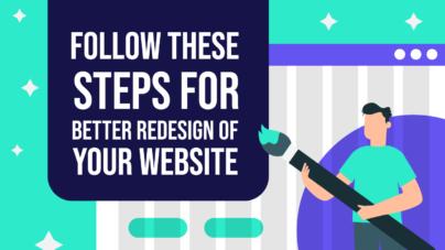 Website Redesign Steps for Better Website by Inkyy Web Design & Inkyy Blog Team
