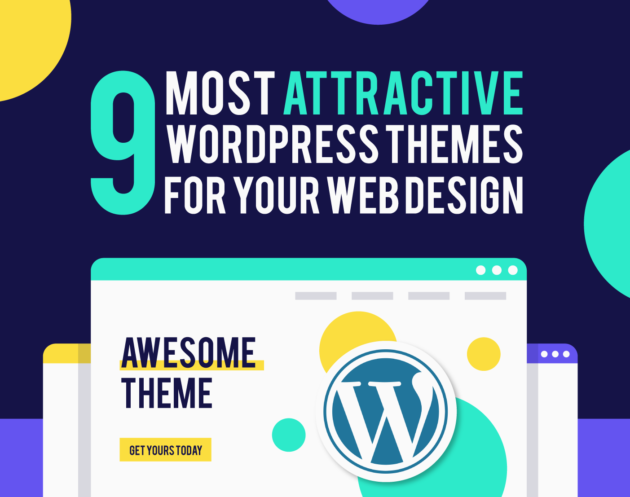 9 Attractive WordPress Themes for Your Web Design by Inkyy Web Design Studio