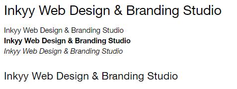 Helvetica - Beautiful Fonts for Web Design - Inkyy Web Desing Studio