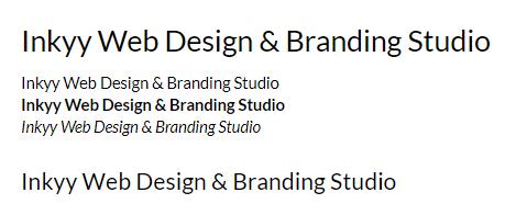 Lato - Beautiful Fonts for Web Design - Inkyy Web Desing Studio