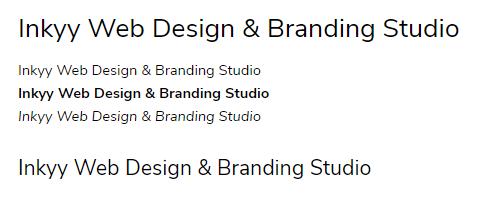 Nunito Suns - Beautiful Fonts for Web Design - Inkyy Web Desing Studio