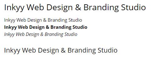 Open Sans - Beautiful Fonts for Web Design - Inkyy Web Desing Studio