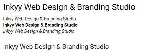 Roboto - Beautiful Fonts for Web Design - Inkyy Web Desing Studio