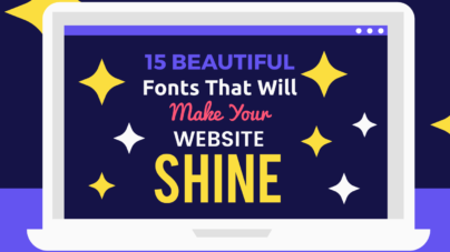 15 Fonts That Will Make Your Website Shine By Inkyy Web Design Studio & Branding Experts