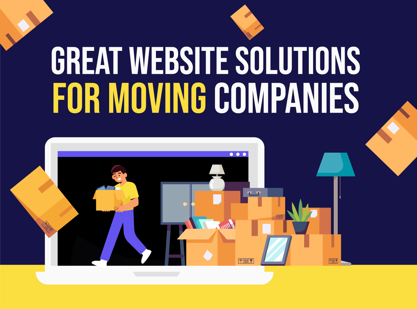 Great Website Solutions for Moving Companies With Inkyy Web Design & Branding Studio