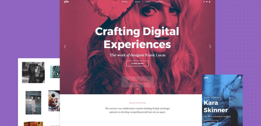 Pile - WordPress Theme - Inkyy Blog Article About WordPress Themes