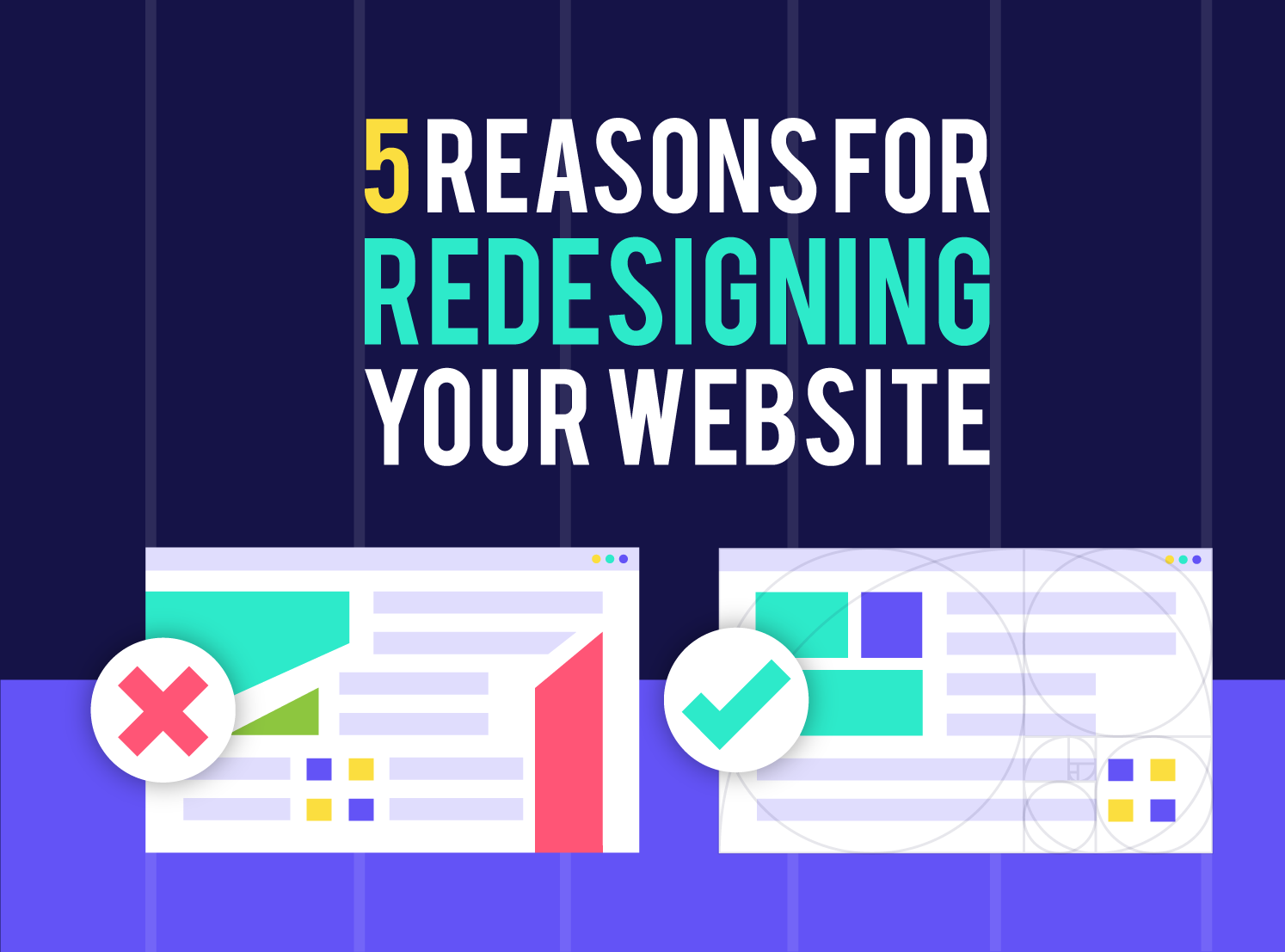 5 Reasons For Redesigning Your Website by Inkyy Web Design & Branding Studio