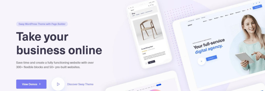 Sway One of the Most Used WordPress Themes - Inkyy Blog