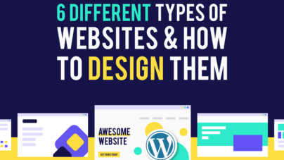 6 Different Types of Websites & How to Design Them by Inkyy Web Design Company