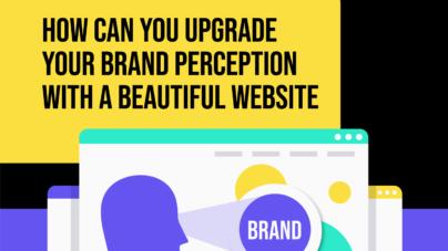 Brand Perception & Website Design in One by Inkyy Design & Branding Studio