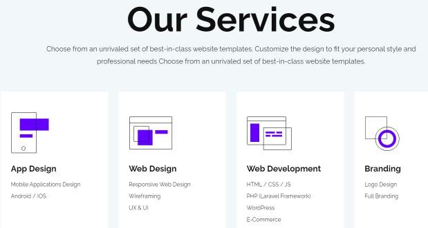 Web Design Studio Services by Inkyy Design & Branding