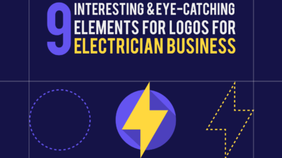 Elements for Logos and Its' design for electrician businesses by inkyy web design studio