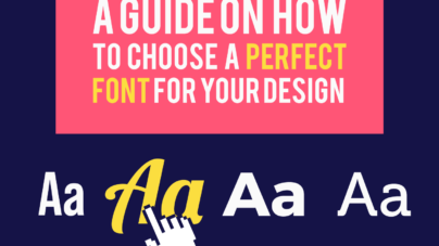 How to choose a perfect font for your design? Inkyy Web Design & Branding Studio