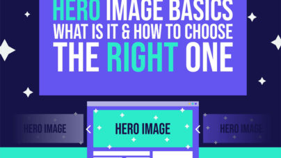 Hero image basics - What are hero images & how to choose the right one - Inkyy web design studio