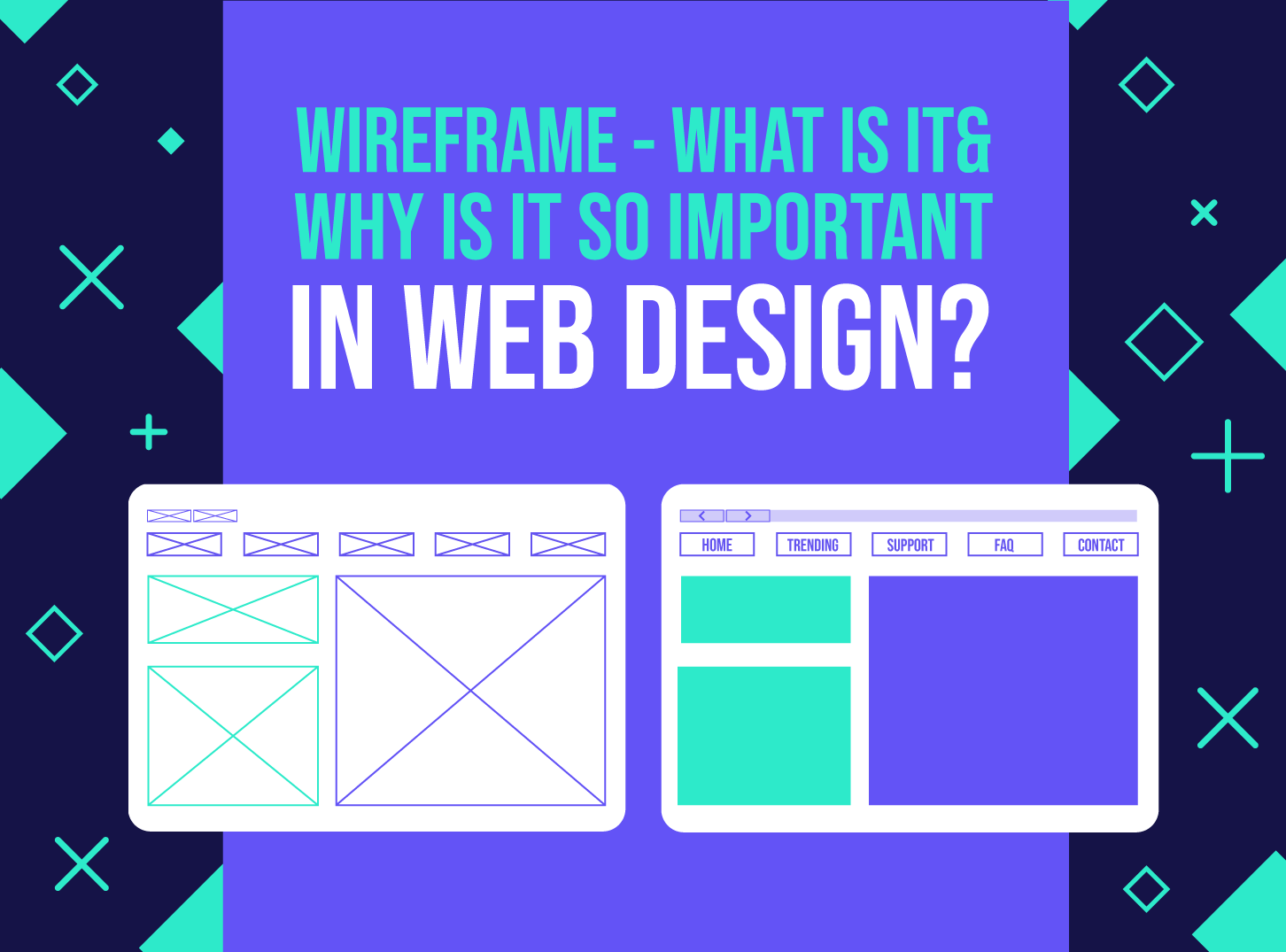 Wireframe & How can they help your design? - Inkyy Web Design Studio