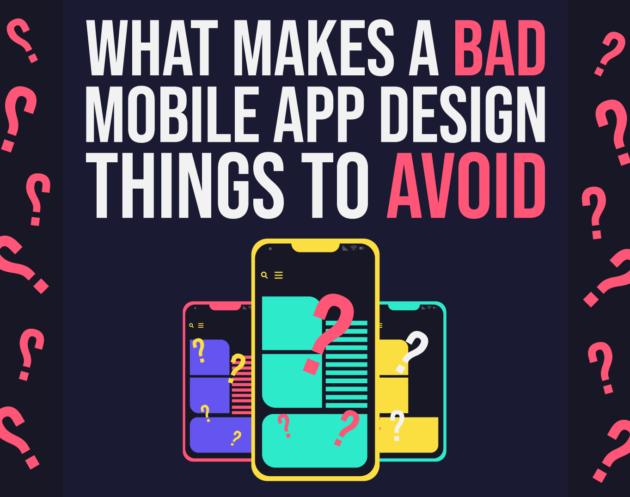 Bad Mobile App Design & What You Should Avoid - Inkyy Web Design & Branding Blog