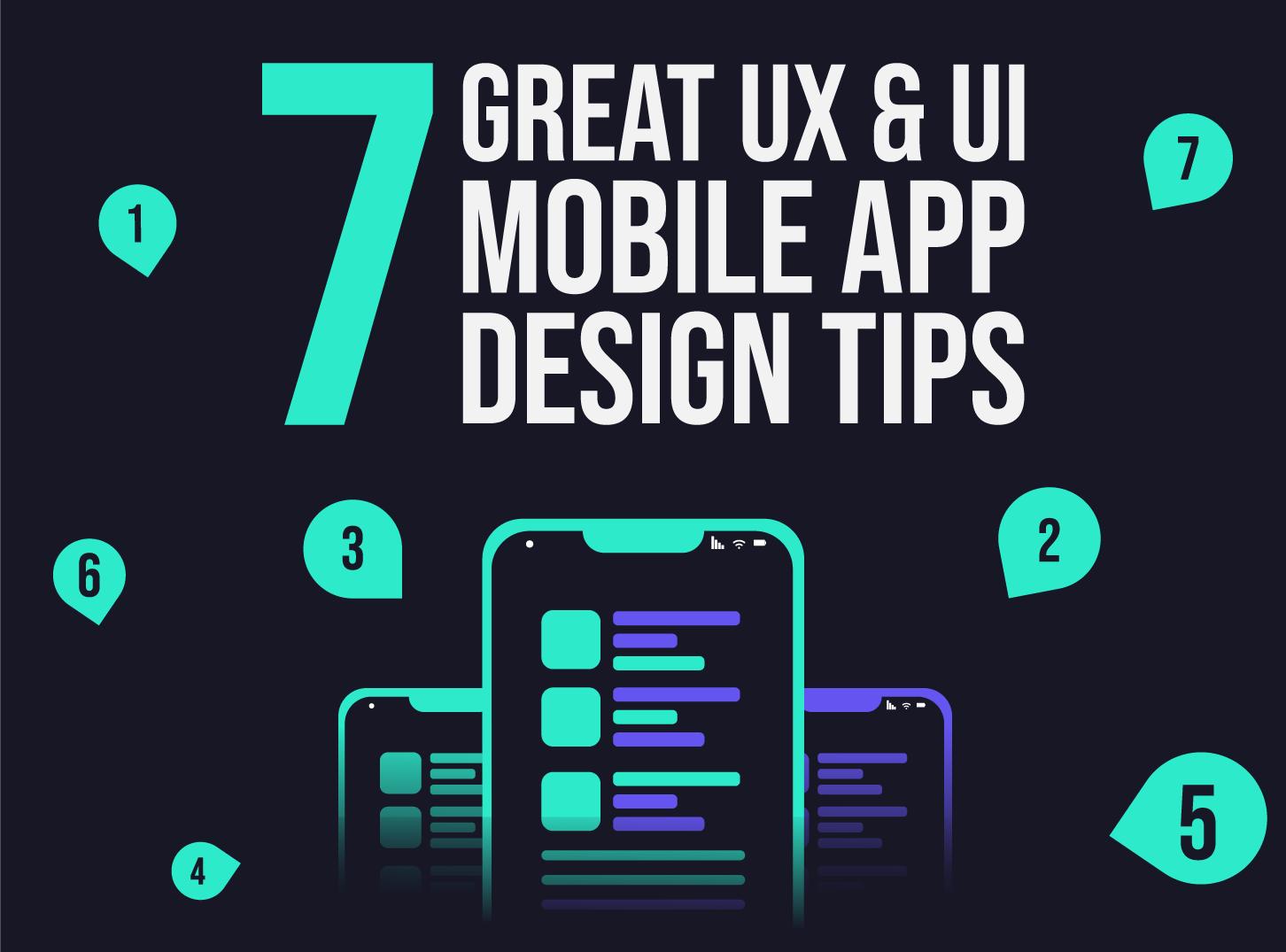 Mobile App Design Tips - 7 Great UX & UI Design Tips - Inkyy Development Team Blog