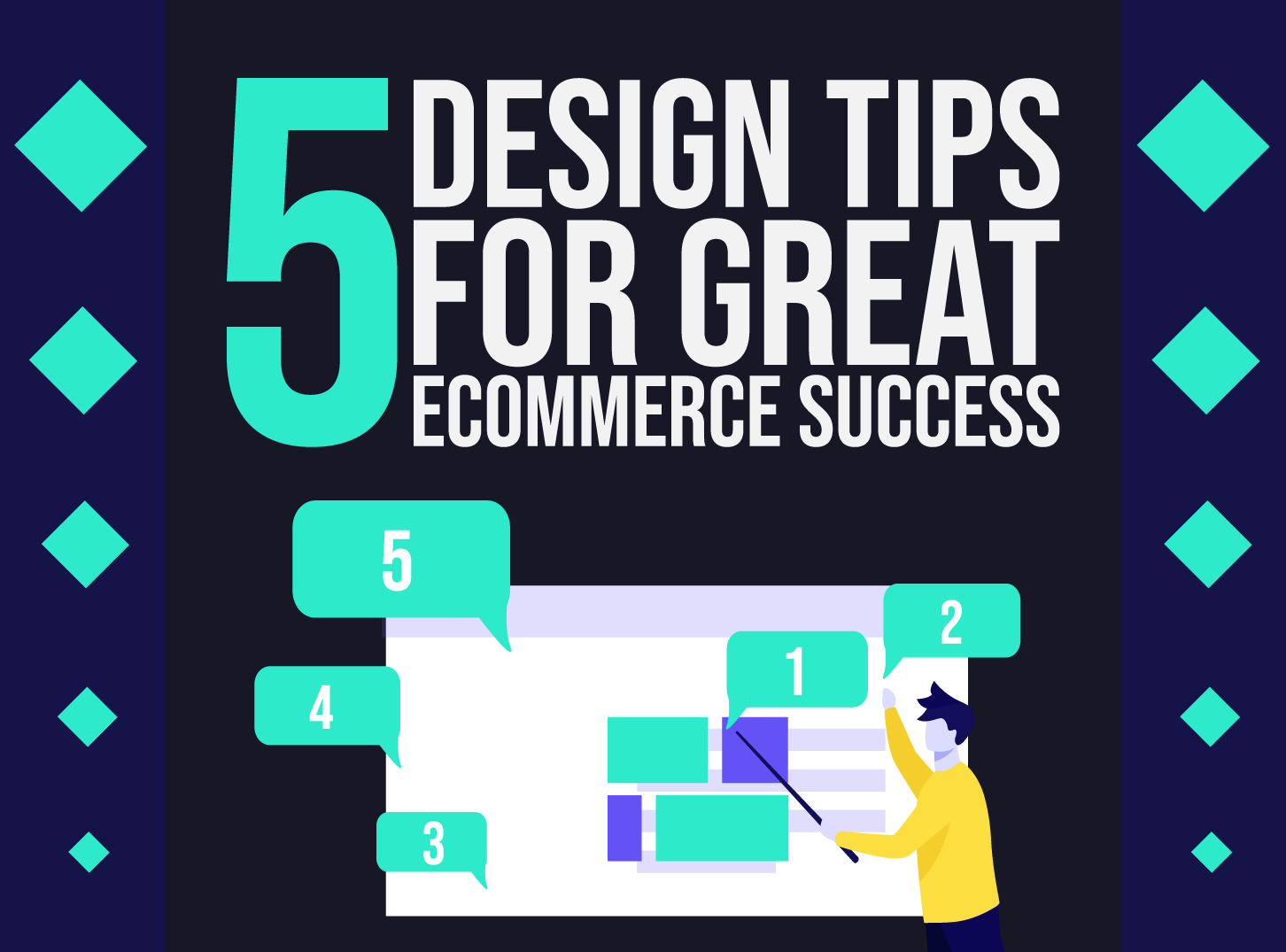 Web Desing Tips for Great Ecommerce Success by Inkyy Web Design Studio